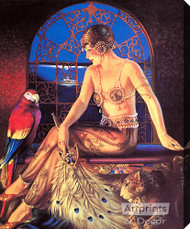 Exotica by Gene Pressler - Stretched Canvas Art Print