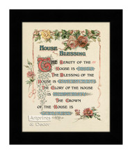 House Blessing - Framed Art Print