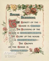 House Blessing - Art Print