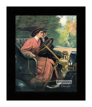 Learning to Drive - Framed Art Print