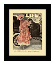 Automobile Number - Framed Art Print