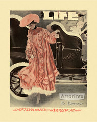 Automobile Number by Henry Hutt - Art Print