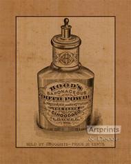 Hoods Tooth Powder - Art Print