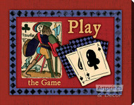 Play The Game - Canvas Art Print