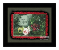Peace & Joy - Framed Art Print