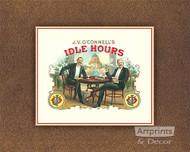 Idle Hours - Art Print