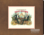 Idle Hours - Stretched Canvas Art Print