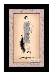 Sophistication - Framed Art Print