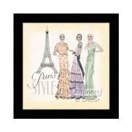 Paris Style - Framed Art Print
