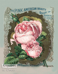The Queen of Edgely Roses - Art Print