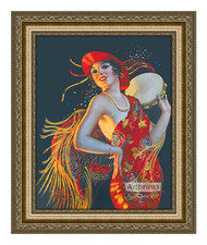 Carmenita - Framed Art Print