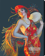 Carmenita by Gene Pressler - Stretched Canvas Art Print
