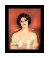 A Princess of Today - Framed Art Print
