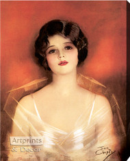 A Princess of Today by Earl F. Christy - Stretched Canvas Art Print
