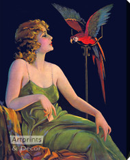 Polly - Stretched Canvas Art Print