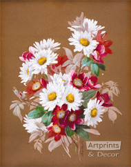 A Bouquet of Daisies by Raoul de Longpre