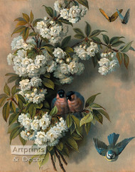 The Flowering Perch by Paul De Longpre - Art Print