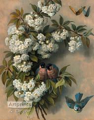 The Flowering Perch by Paul De Longpre - Art Print