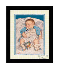 Sleeping Peacefully - Framed Art Print