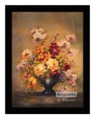 Floral Mystic - Framed Art Print