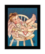 Taking it Easy - Framed Art Print