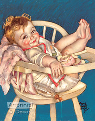 Taking it Easy by Maud Tousey Fangel - Art Print