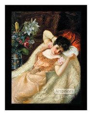 After the Ball - Framed Art Print