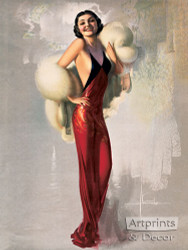 Lady Fair - Art Print