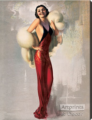 Lady Fair - Stretched Canvas Print