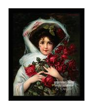 Evening Bouquet - Framed Art Print