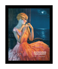 Moonlight & You - Framed Art Print
