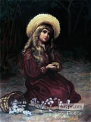 Marcie by L.H. Mott - Art Print