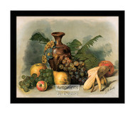 Tropical Fruit Paradise - Framed Art Print