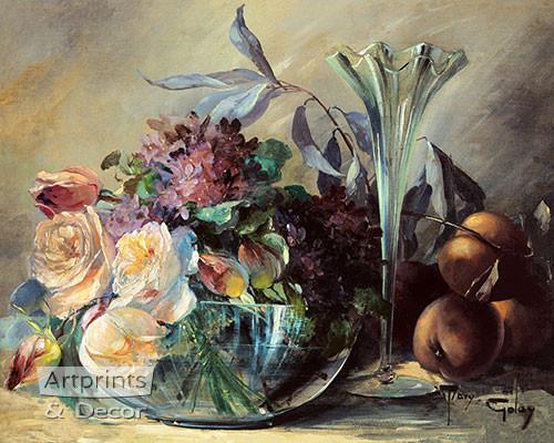 An Empty Vase - Framed Art Print