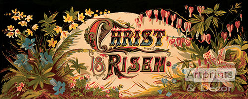Christ is Risen - Art Print