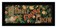 Humbly At Thy Cross I Bow - Framed Art Print