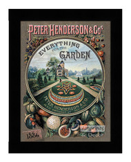 Everything for the Garden 1886 - Framed Art Print
