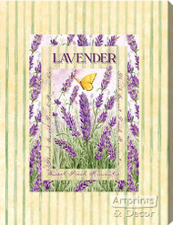 Lavender - Stretched Canvas Print