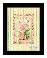 Rose - Framed Art Print