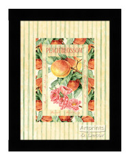 Peach Blossom - Framed Art Print