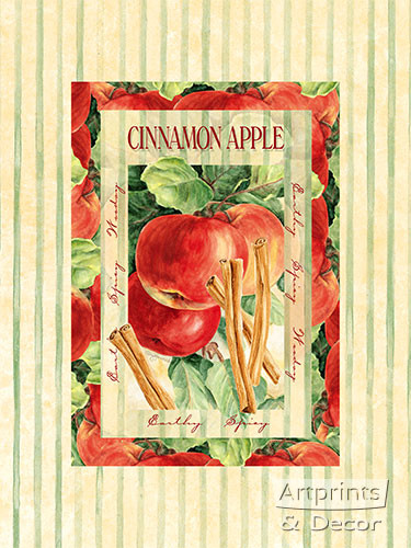 Cinnamon Apple - Art Print