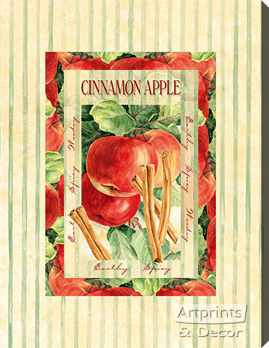 Cinnamon Apple - Stretched Canvas Print
