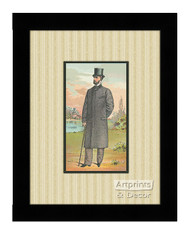 Mr Jacobs - Framed Art Print