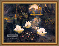 Swan Lake - Framed Art Print