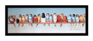 The Bird Perch - Framed Art Print