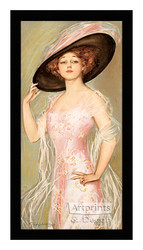 Confidence in Pink - Framed Art Print