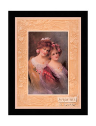 The Sisters - Framed Art Print