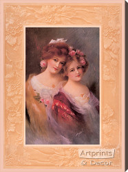 The Sisters by Bryson C. Ross - Stretched Canvas Art Print