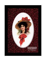 Claudia - Framed Art Print