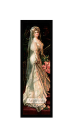 The Happy Bride - Framed Art Print